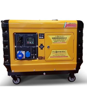 Gruppo elettrogeno super silenziato Diesel GMD8500INS-E